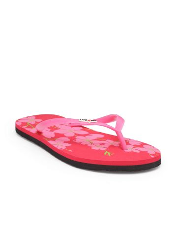 LIVE FIT FOOTWEAR WOMEN FLIPFLOP RED