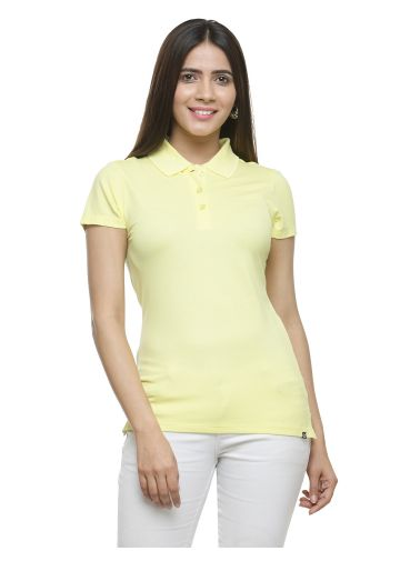 AASTHA POLO T -SHIRT -  LEMON YELLOW