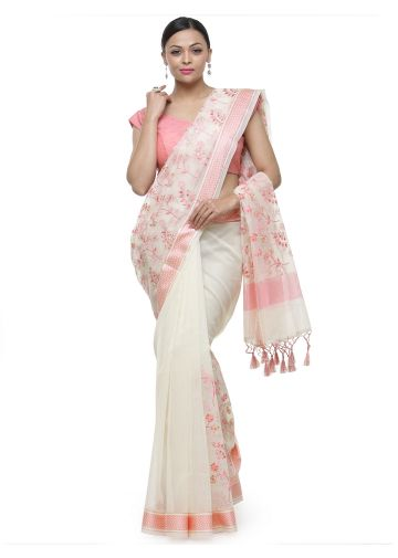 AASTHA ETHNIC SAREE PEACH
