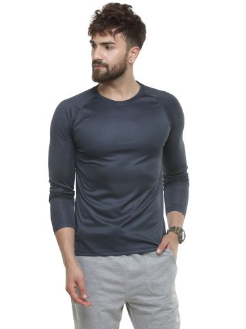 LIVE FIT  SPORTSWEAR  T- SHIRT  -GRAPHITE