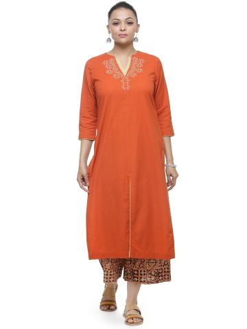 AASTHA WOMEN KHADI COTTON KURTA