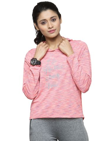 LIVE FIT WOMEN INDOWESTERN YOGATOP PINK