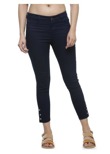 LIVE FIT WOMEN INDOWESTERN COTTON /POLY/LYCRA, YARN DYED DENIM INDIGO