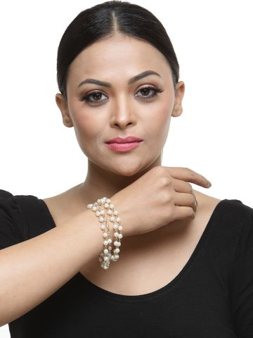 AASTHA ACCESSORIES BRACELETS GOLDEN