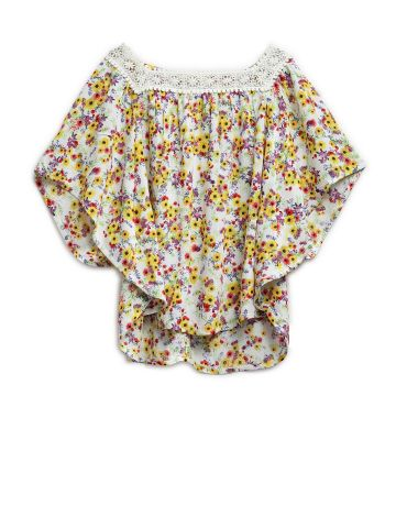 AASTHA KIDSWEAR TOP YELLOW