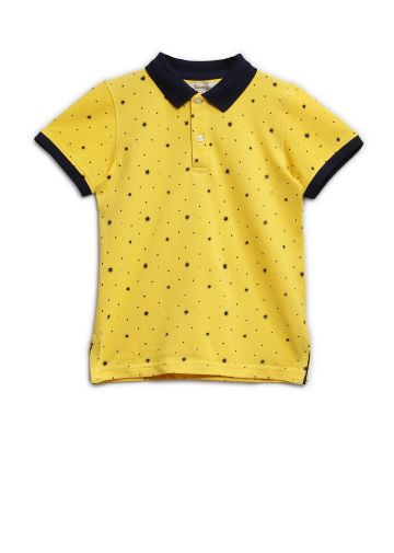 SANSKAR KIDSWEAR T SHIRTS YELLOW