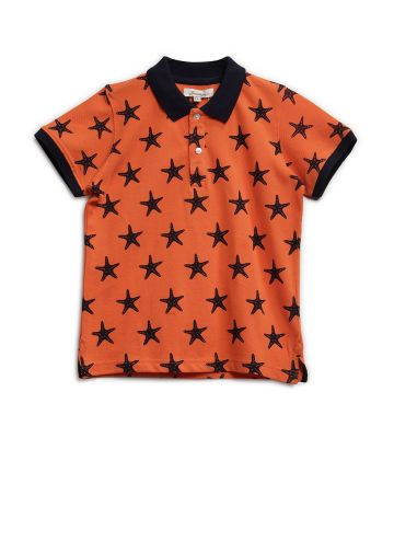 SANSKAR KIDSWEAR T SHIRTS ORANGE