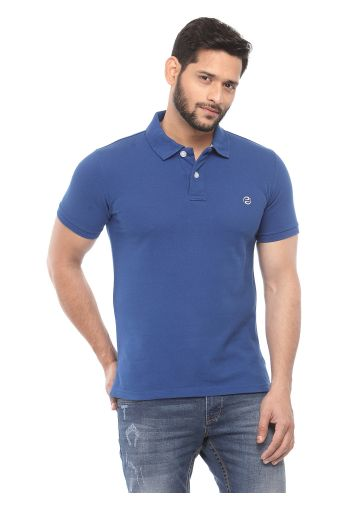 SANSKAR MENSWEAR FASHION POLO TRUE BLUE