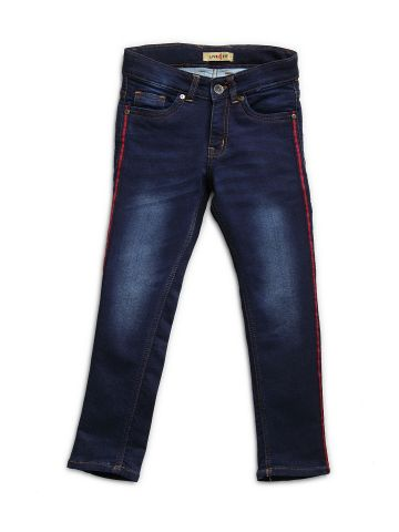 LIVE FIT KIDSWEAR DENIM INDIGO BLUE-1