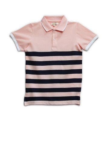 SANSKAR KIDSWEAR T SHIRTS Pink/Navy