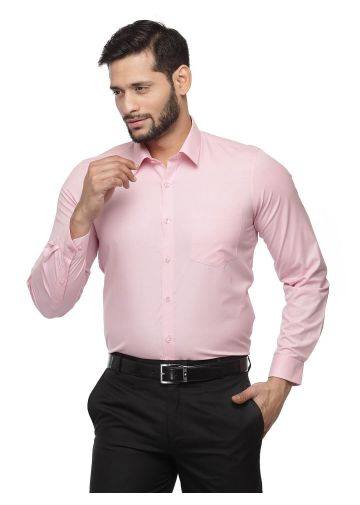 SANSKAR MENSWEAR FORMAL SHIRT PINK